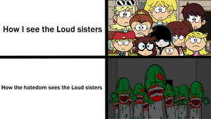 The Loud sisters are NOT beasts