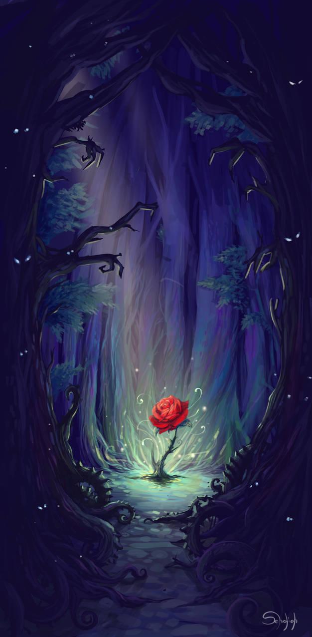La Rose de l'Enchanteur