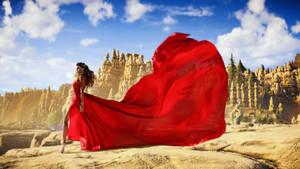 Aloy red dress