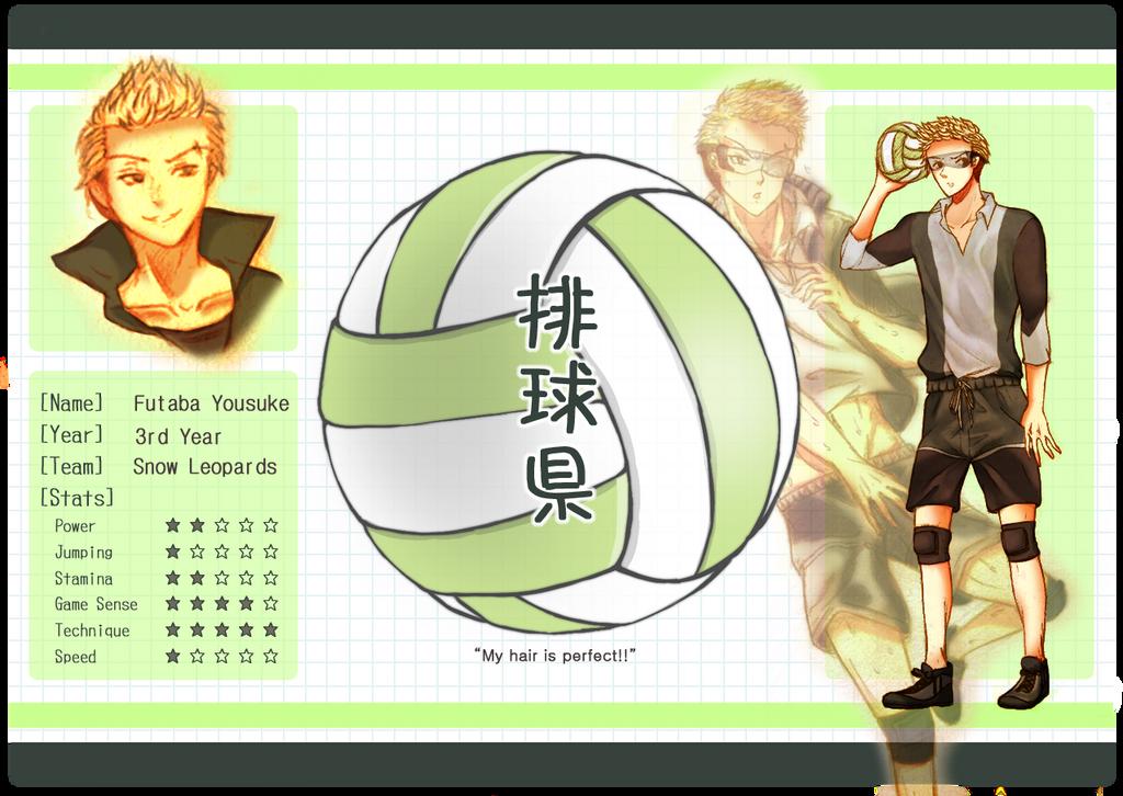 HQ-Ken: Futaba Yousuke by da-stalka
