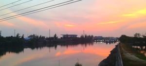 Dawn on Cunda Lhokseumawe