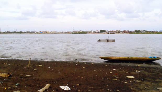Boat perahu di pantai