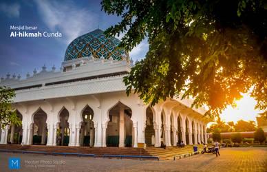 Foto Mesjid Al-Hikmah Cunda, Lhokseumawe