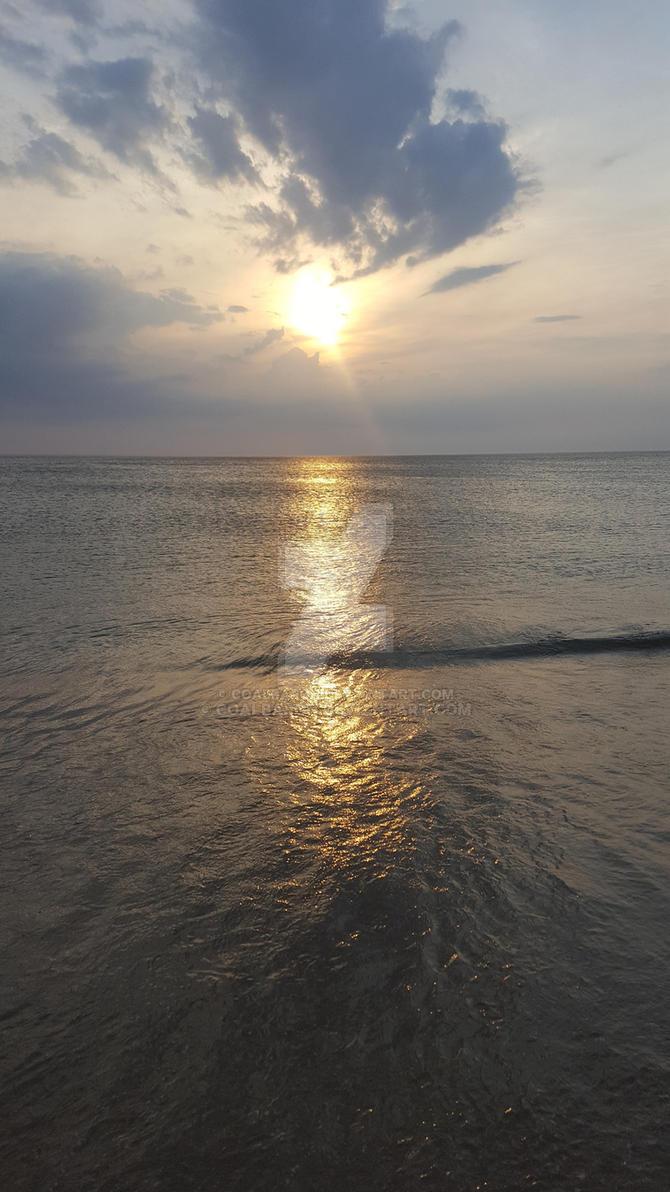 OBX Sunrise by coalbaron