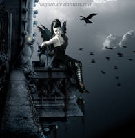 Queen of the Notre Dame by hugara