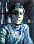 Self Portrait with Tape