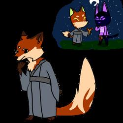 Kitsune Kiibo and Nanimal Cerosing