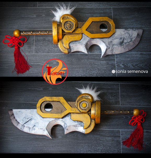 Sword of Dragonblade Riven, League of Legends by TabitiProps