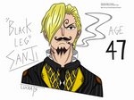 ''Black Leg'' Sanji by lucrats