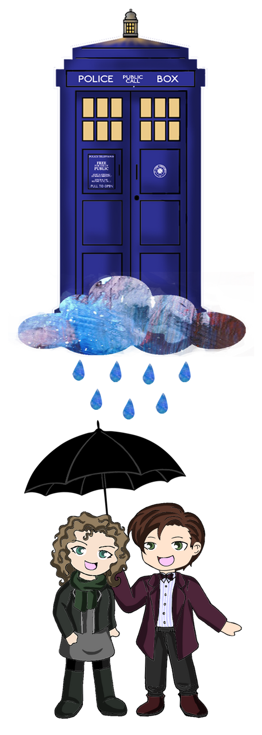 Doctor Who - Rain Drops by Heza-chan