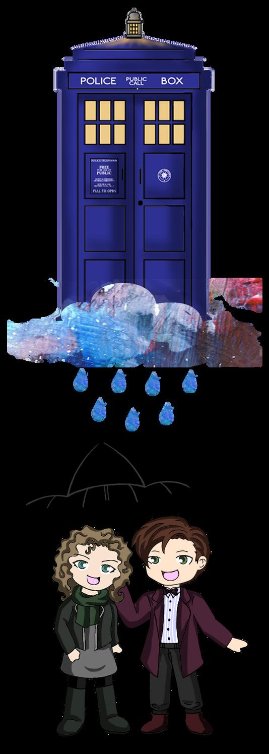 Doctor Who - Rain Drops by Heza-chan