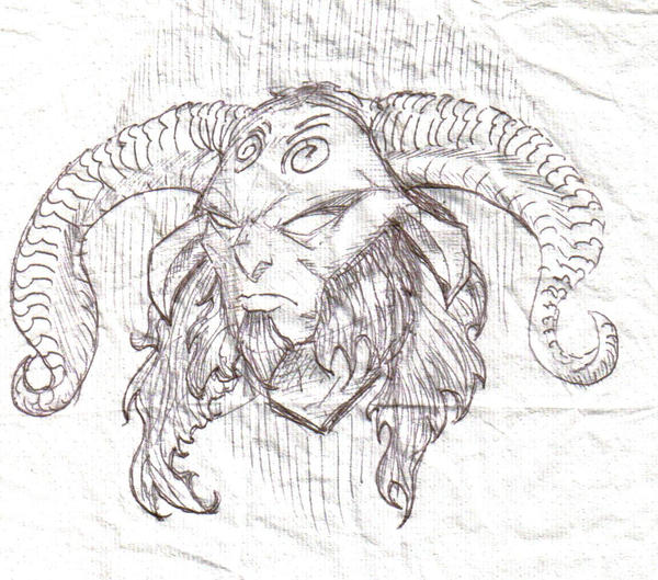 Pans Labyrinth Faun Drawing | www.imgkid.com - The Image ...