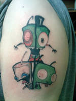 Invader Zim by shinigami-sama