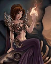 Earth Sorceress by shinigami-sama