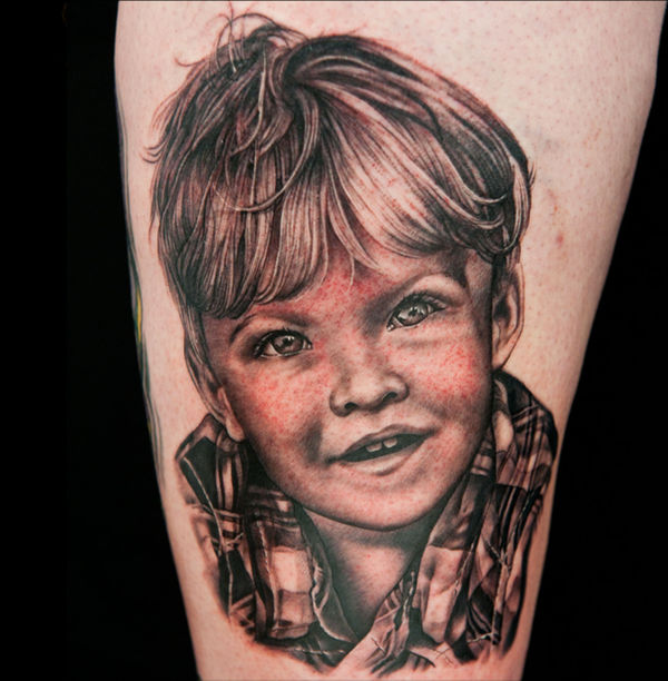 Aiden Portrait from Ink Master
