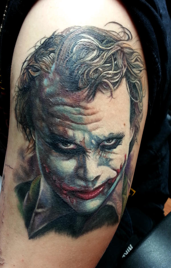 Joker Portrait by shinigami-sama