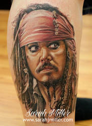 Captain jack Sparrow by shinigami-sama