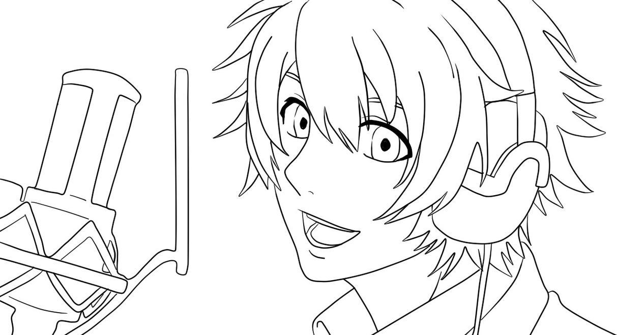 Рисуем из аниме поющие принцы