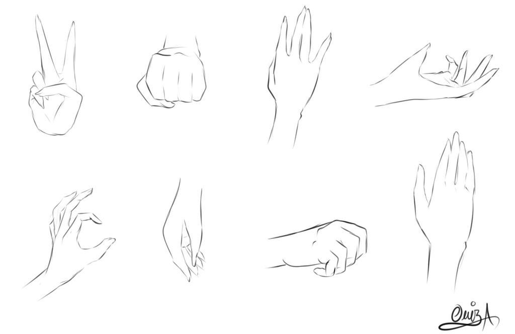 Hands Practice By Diamond-Drops On DeviantArt
