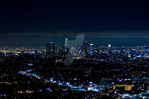 Nighttime in Los Angeles
