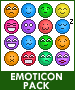 Emoticon Pack by fear-the-brilliance