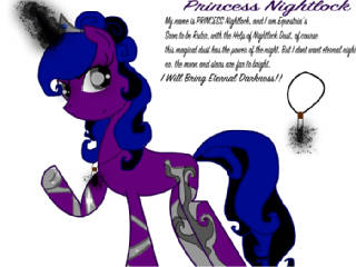 Princess Nightlock  lg by BlondeBrony