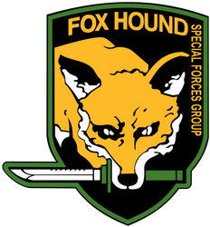 Fox Hound Emblem - High quality