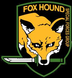 Fox Hound Emblem - High quality by Linux4SA