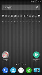 OnePlus One Homescreen