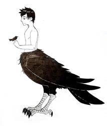 Raven Man II by harakanpoika
