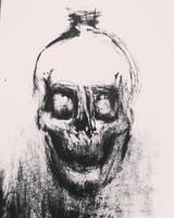 Study of a crystal head vodka skull by CharaSweetCheeks