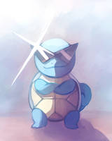 Squirtle by HamsterParade