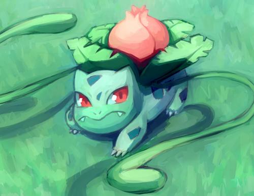 Ivysaur by HamsterParade