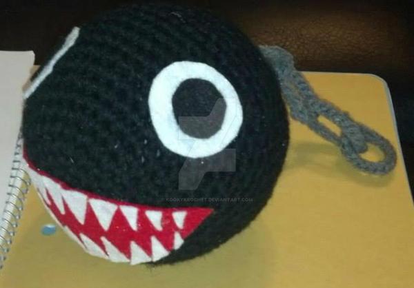 Crochet Mario Chain Chomp By Kookykrochet On Deviantart