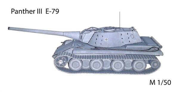 E-79 M1:50 by Raven-Al