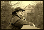 Shooting a Cowboy by mygreymatter