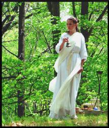 Vestal Virgin by mygreymatter