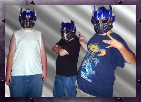 I am Optimus Prime by mygreymatter