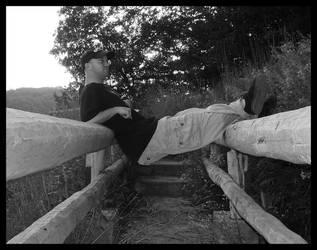 Suspension Bridge by mygreymatter