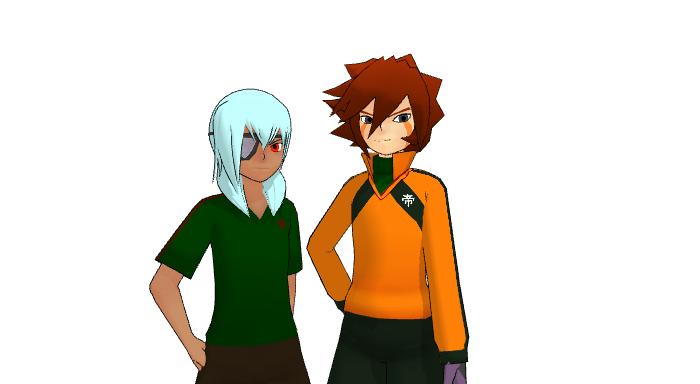 .::MMD - Genda and Sakuma::. by ChicaTH