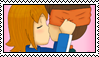 .::Stamp - :GOALKEEPER SHIPPING: Endou X Haruka::. by ChicaTH