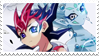 - Stamp: Yuma and Astral. - by ChicaTH