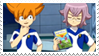 - Stamp: Manabe and Minaho. - by ChicaTH