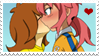 - Stamp: Masako x Ranmaru. - by ChicaTH