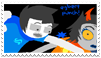 - Stamp: Egbert punch! - by ChicaTH