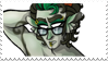 - Stamp: Jadeblood!Eridan. - by ChicaTH