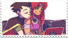 - Stamp: Robin x Starfire. - by ChicaTH