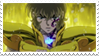 - Stamp: Aiolia no Leo. - by ChicaTH
