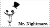 - Stamp: Mr. Nightmare. - by ChicaTH