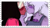 - Stamp: Garnet x Amethyst. - by ChicaTH